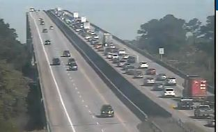 I-526 traffic from Mount Pleasant crawling after wreck