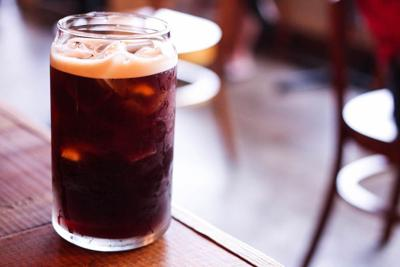 Cold brew at Indah Coffee