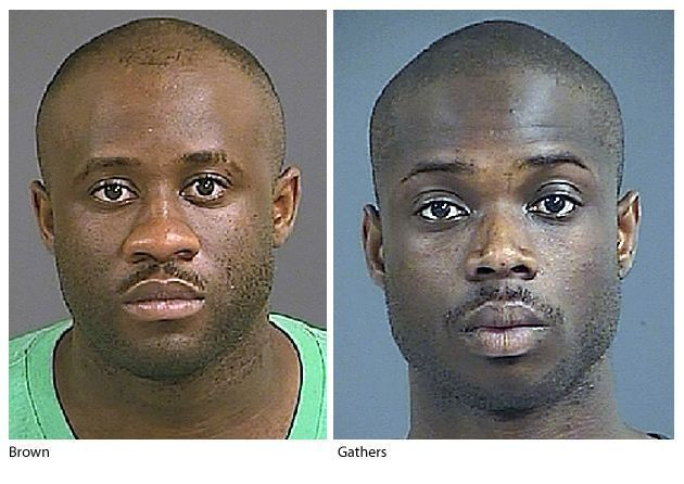 Two North Charleston men arrested in string of Charleston robberies, suspected of dressing like women in two cases