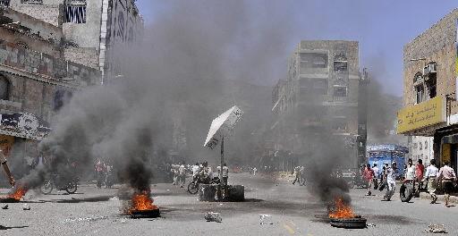Street battles in Yemeni capital leave 41 dead