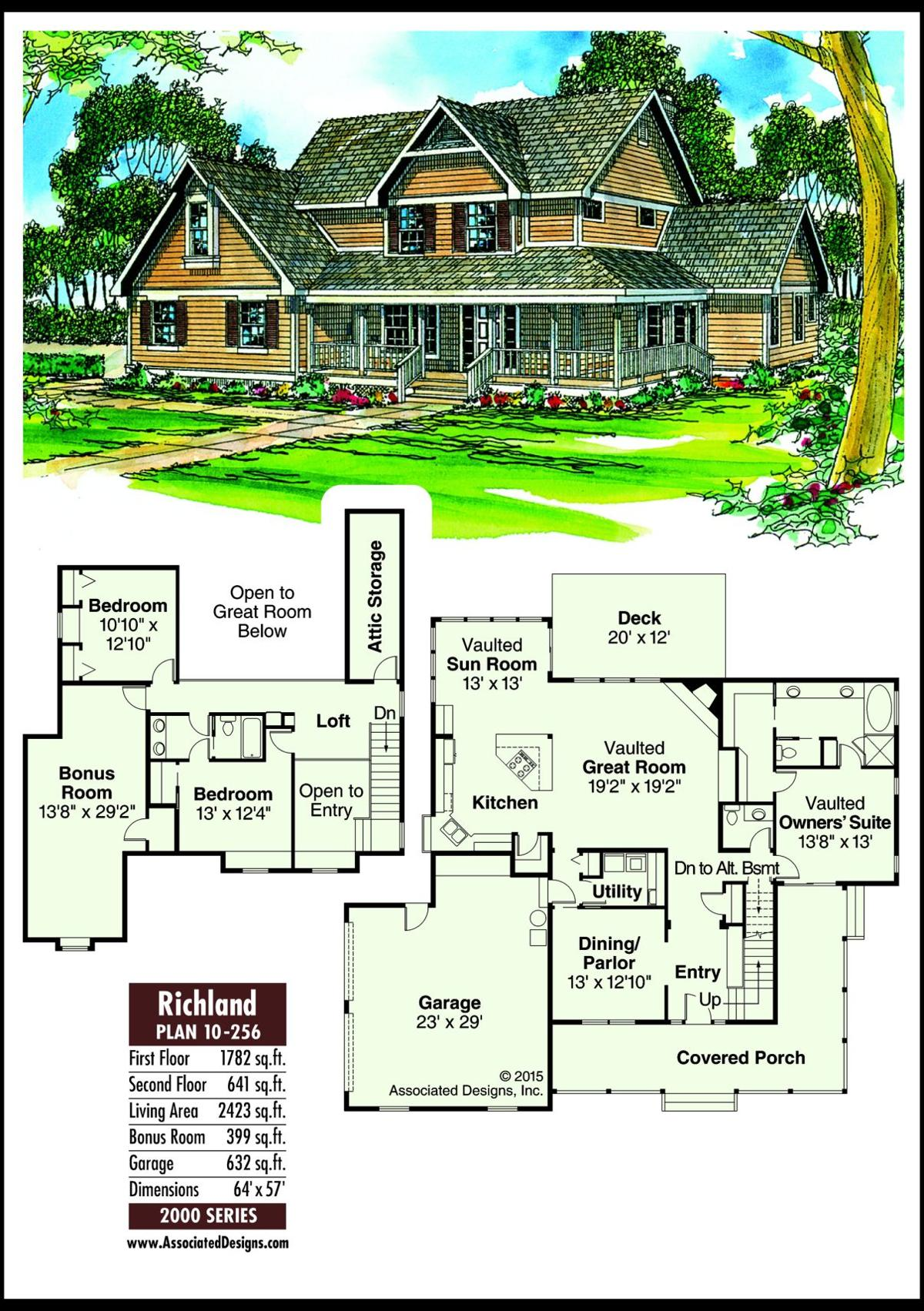 This week's house plan Richland 10-256