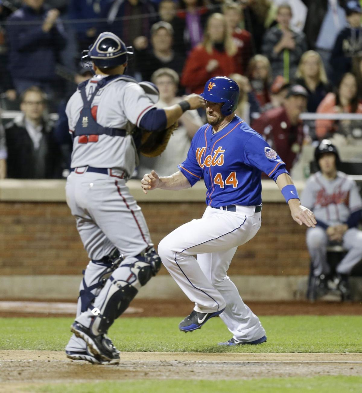 Mets rally to end Braves' streak
