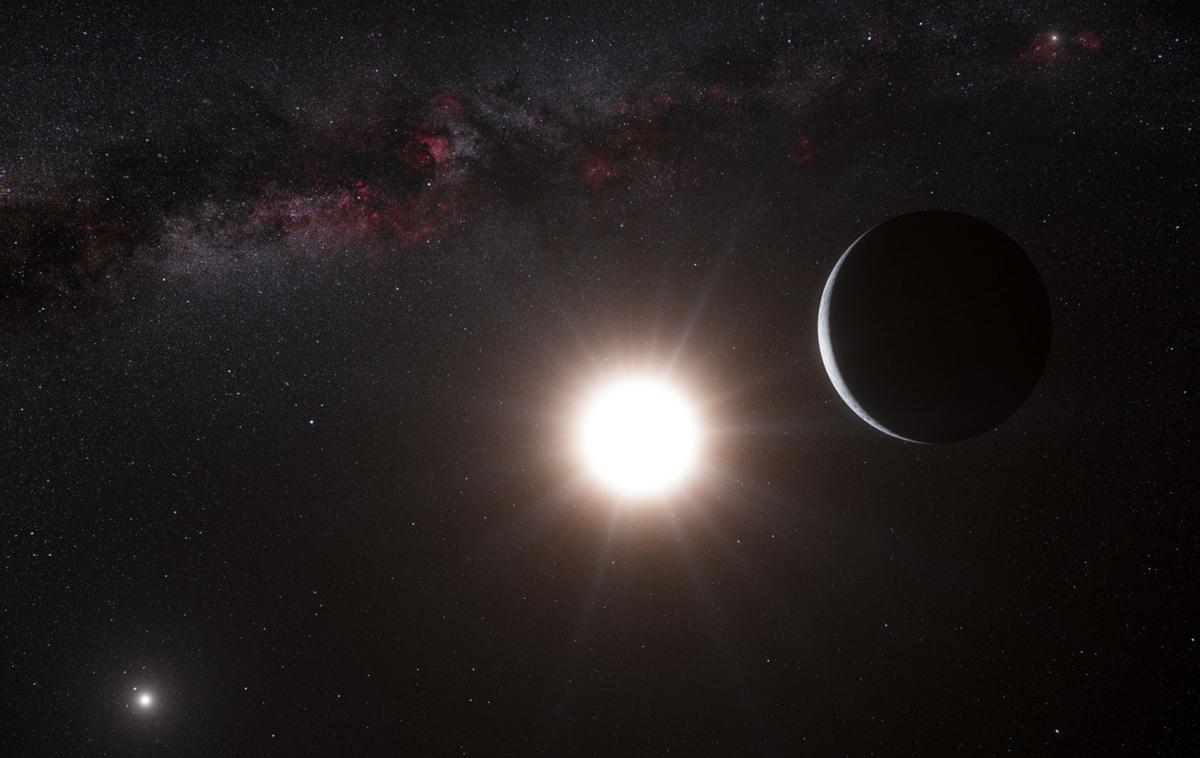 Earth-sized planet close by — sort of