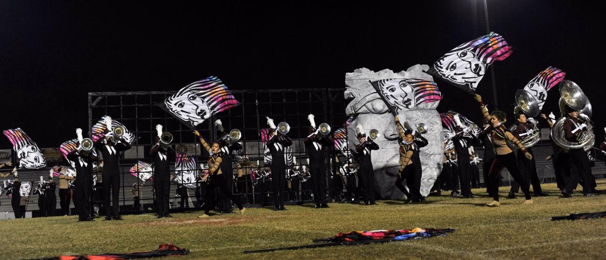 "Wando Marching Band performs ""Therefore"""