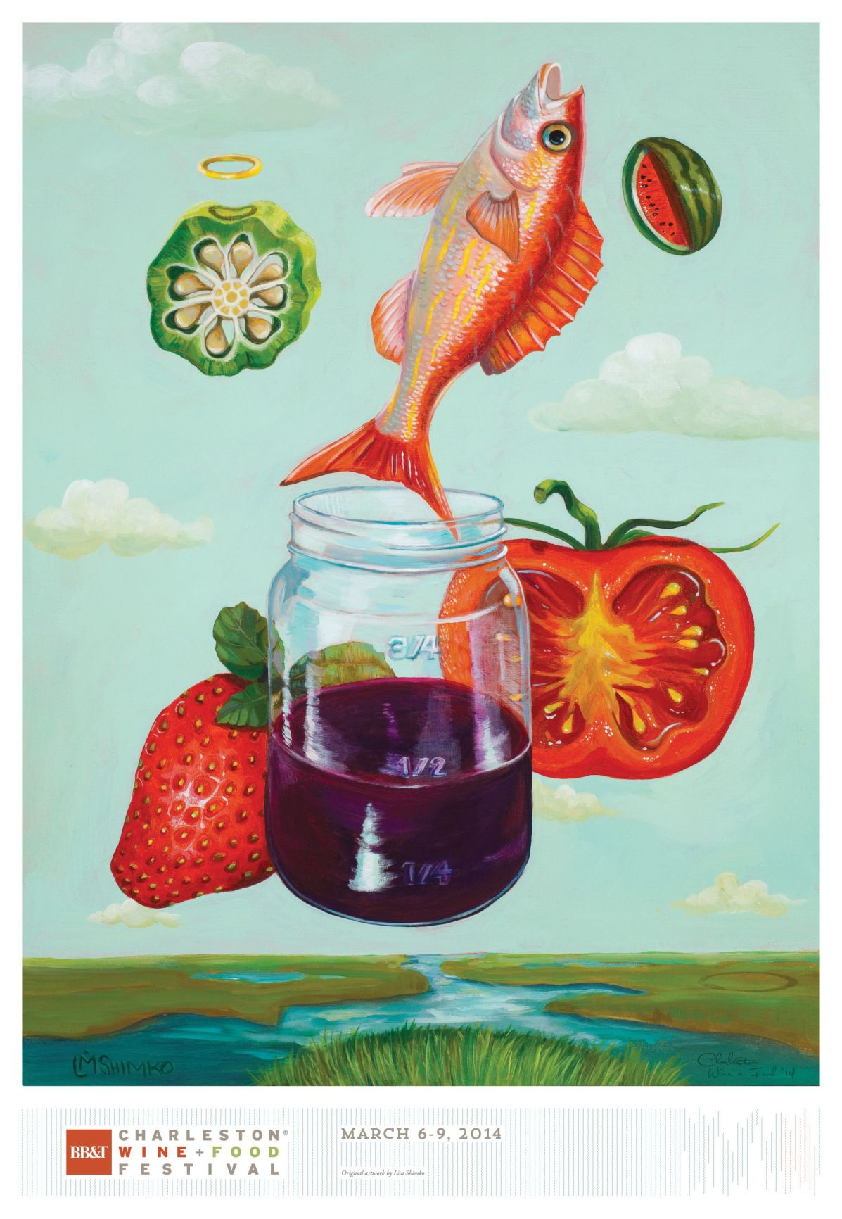 Wine And Food Festival Ads