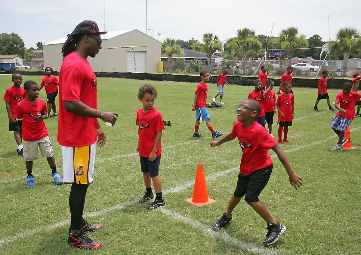 Roddy White football camp opens Wednesday