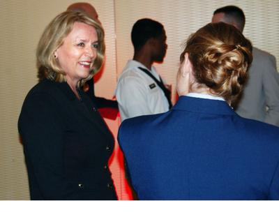 Air Force Secretary stresses mission-readiness in speech to Chamber