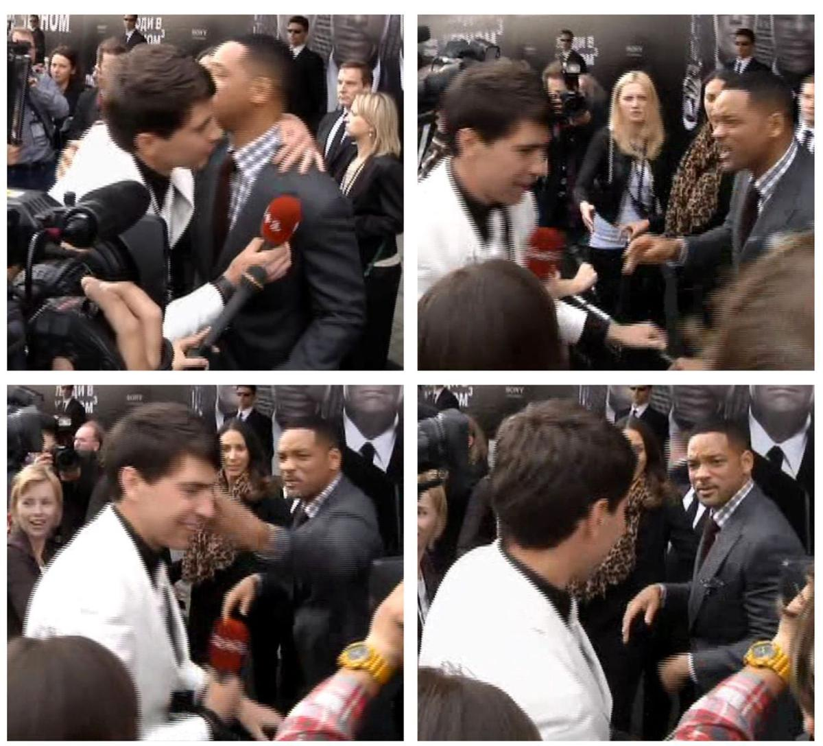Reporter gets fresh with Will Smith