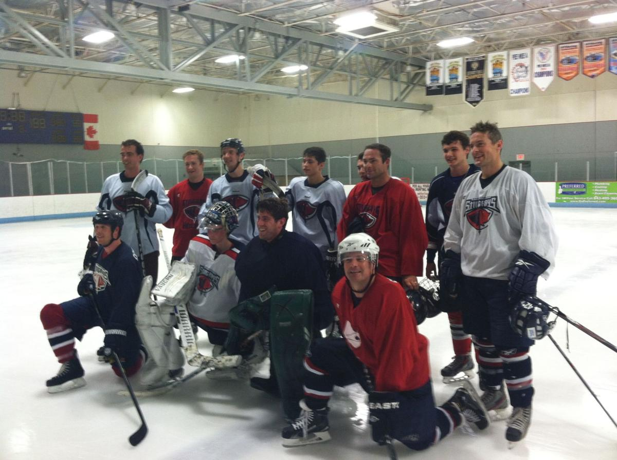 Former Stingrays take part in 'pro day' for local youth goalie