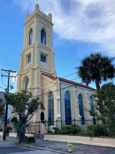 Charleston's second-oldest church gets face-lift during COVID-19 downtime