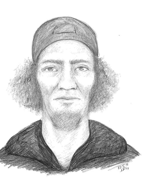 Folly Beach authorities release sketch of suspect in Sunday's armed robberies