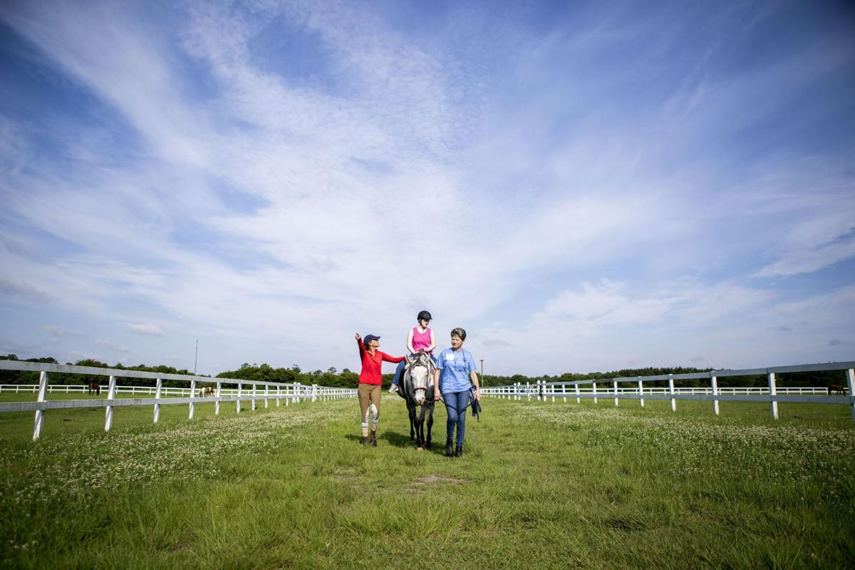 Horse therapy programs benefit children, adults