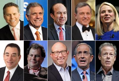 Media heads rule the ranks of best-paid CEOs