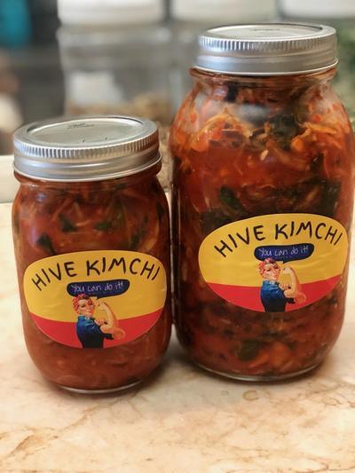 Lowcountry kimchi