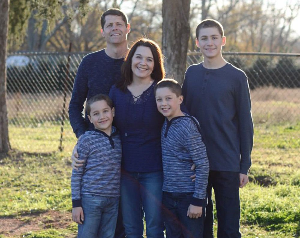 SMALL, NO MORE THAN 2 COLUMNS Miracle Hill Ministries foster family