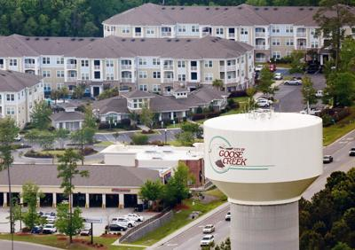 aerial tower growth Goose Creek (copy)