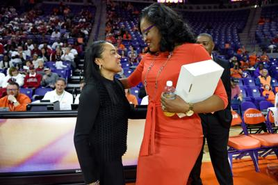 South Carolina Clemson Basketball