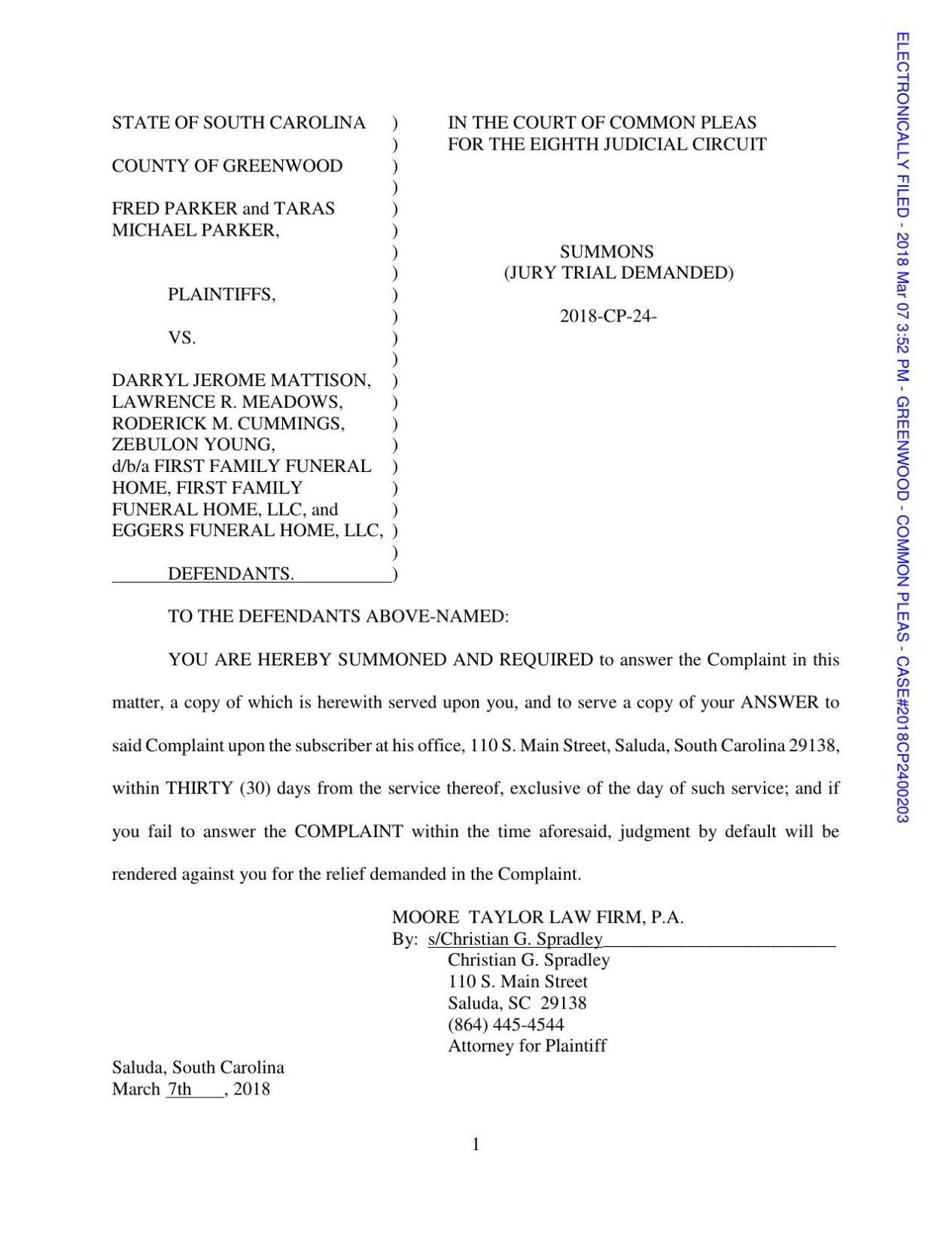 1st Judicial Circuit Radio Wiring Diagram Case 445 In South Carolina Rh Vehiclewiring Today Of Florida