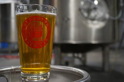 Cottontown Brew Lab Blue Zip Tie IPA