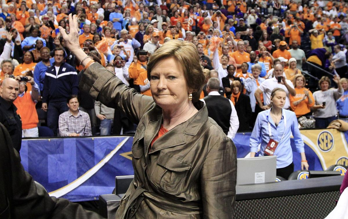 Summitt is stepping aside as Tennessee's women's basketball coach