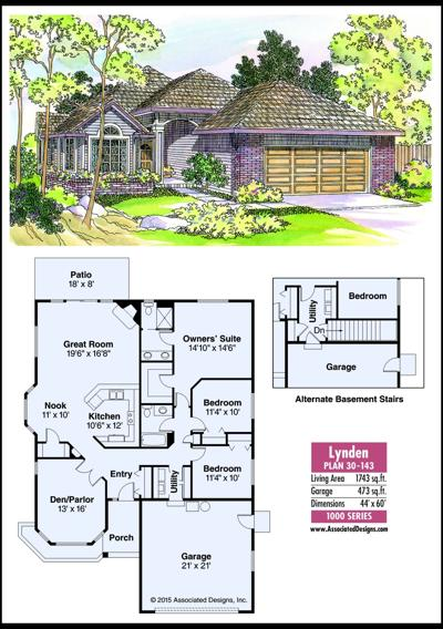 This week's house plan Lynden 30-143