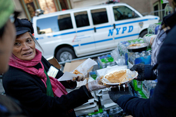 Occupy holiday dining