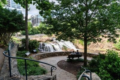 Downtown Greenville Reedy River