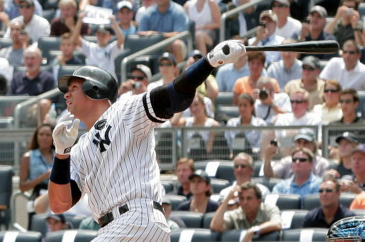 Alex Rodriguez finally hits milestone home run