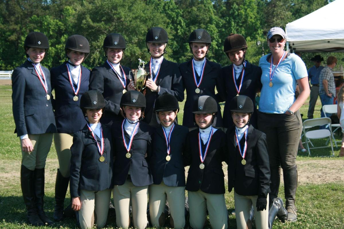 Ashley Hall equestrian team claims state title
