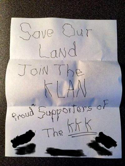 Charleston police trying to find source of KKK fliers distributed in West Ashley