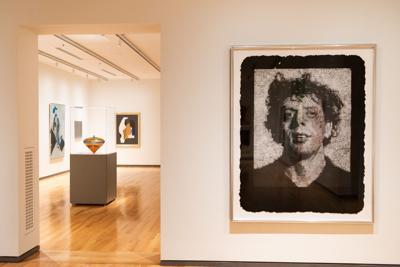 Columbia Museum of Art upstairs gallery