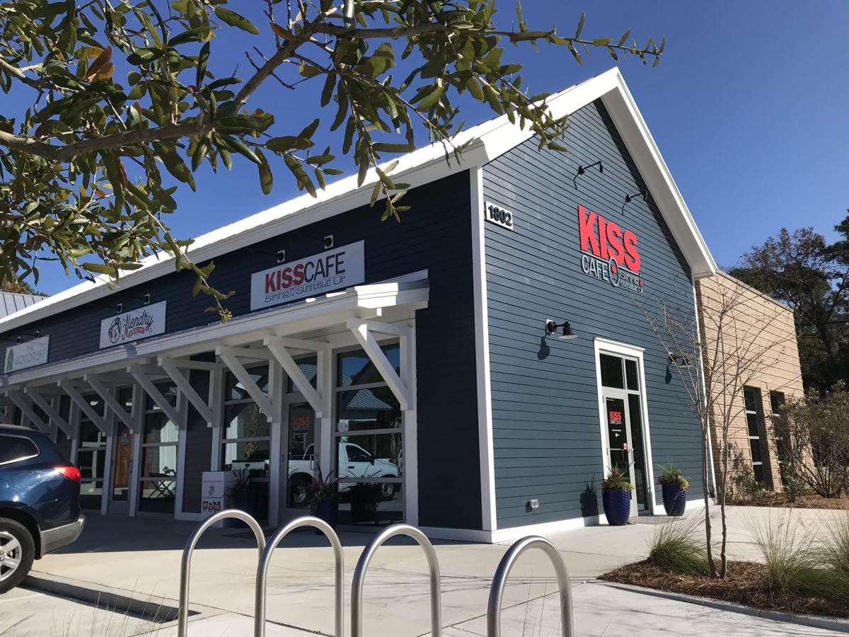 KISS cafe in Live Oak Square on Johns Island