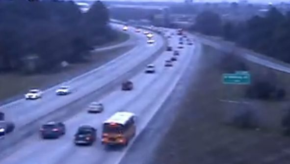 Roads around Charleston clear, temperatures well above freezing