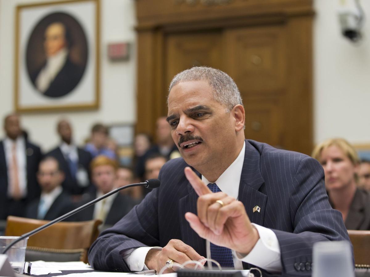 FBI investigating potential civil rights violations at IRS, Holder tells Congress