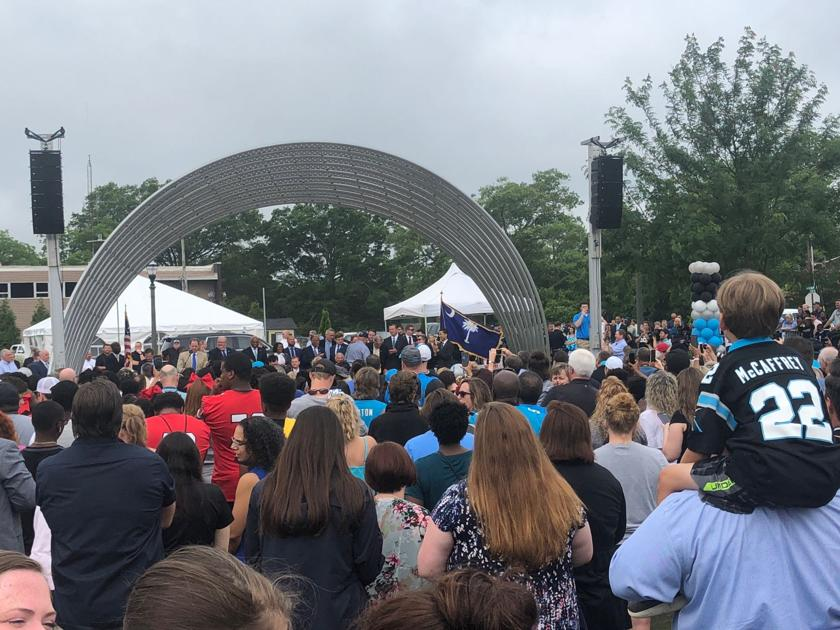 'Watershed moment': Panthers' fans celebrate planned NFL practice facility in Rock Hill