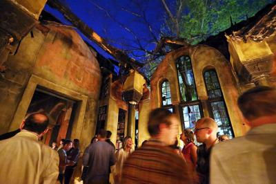 In Charleston, a most unusual party where 'Byzantine Phoenix' meets 'New Orleans creepy'