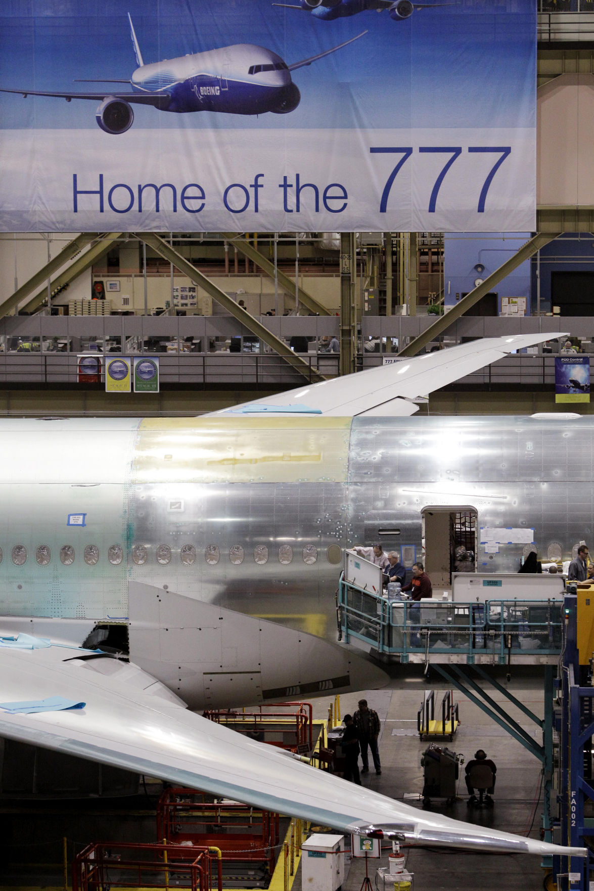 Next new arrival? Boeing, Charleston & the 777X: It's like 2009 all over again
