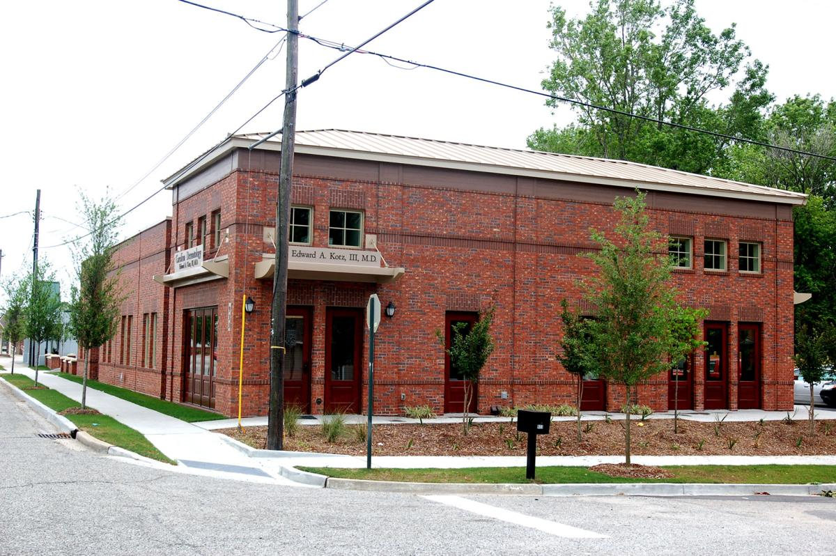 Medical office of Edward Kotz at 933 St. Andrews Boulevard