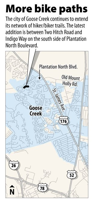 Goose Creek trail to expand