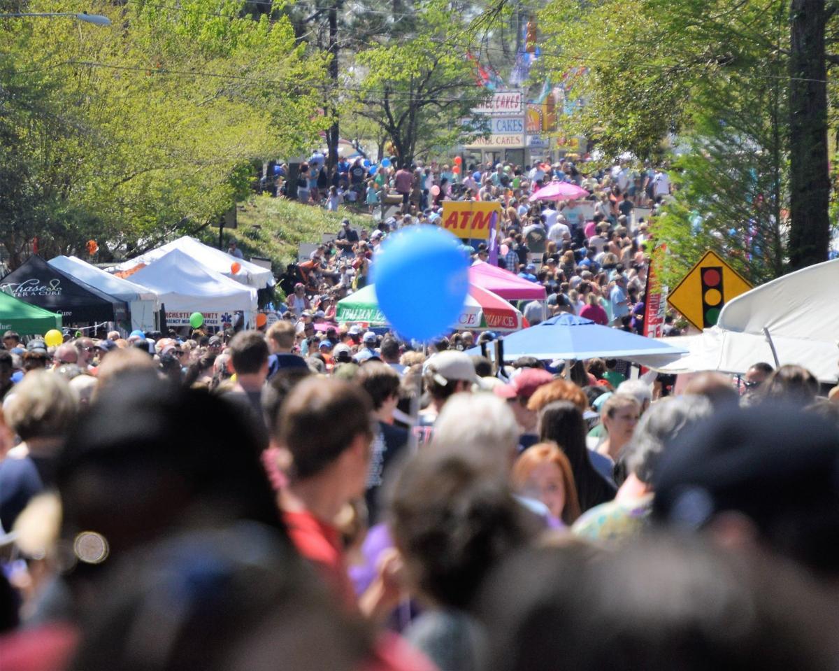Flowertown recap - crowds