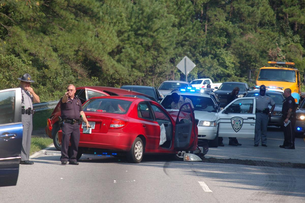 Charges filed in this morning's crash on Highway 52 Connector