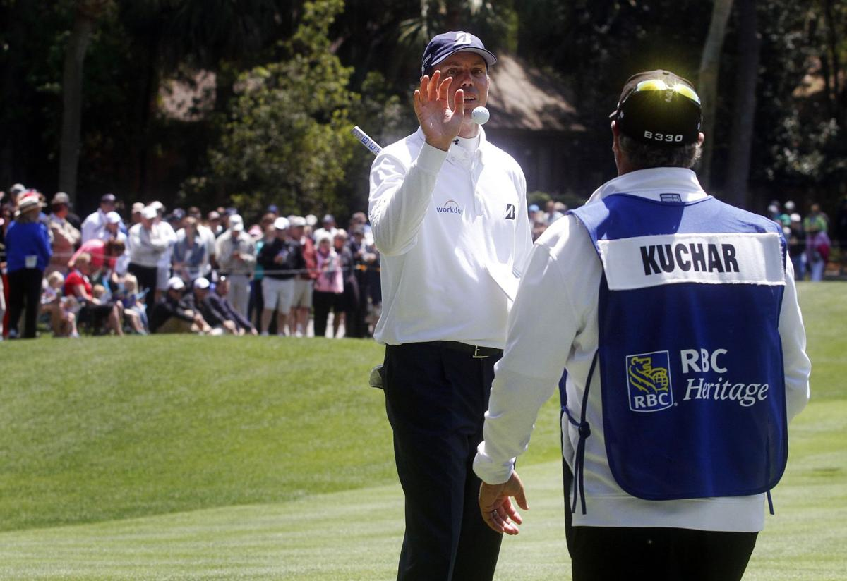Kuchar, McGirt, Langley share Heritage lead after first round