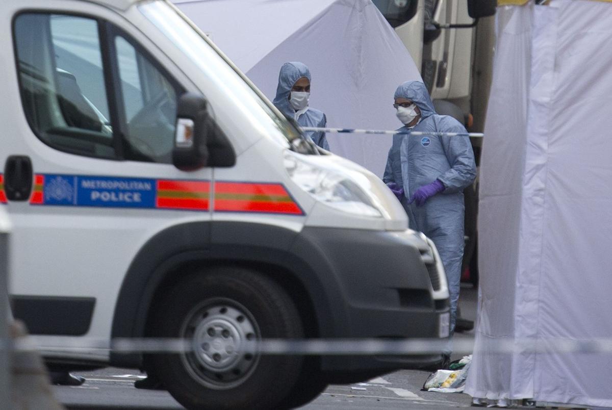 London attack believed terror