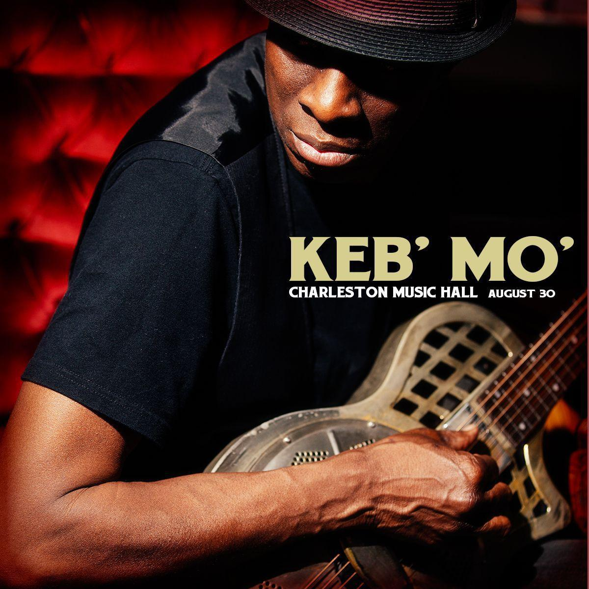 Keb Mo to play Charleston Music Hall in August