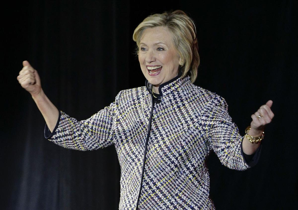 Clinton to hold campaign fundraisers in California in May