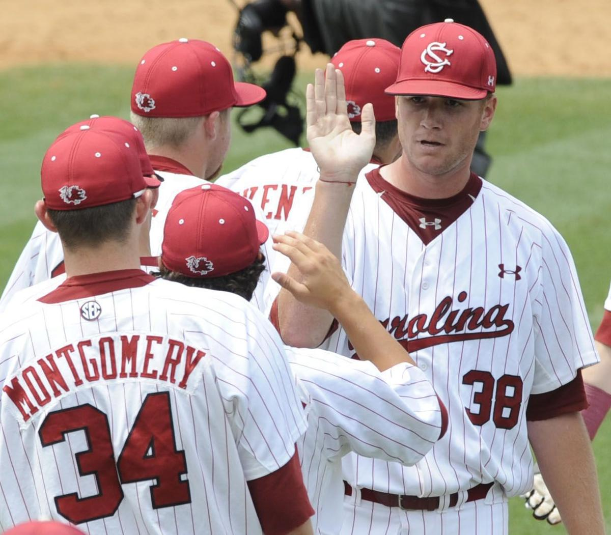 After a spring of adversity, South Carolina's Chad Holbrook sees his first team advance in NCAA tournament