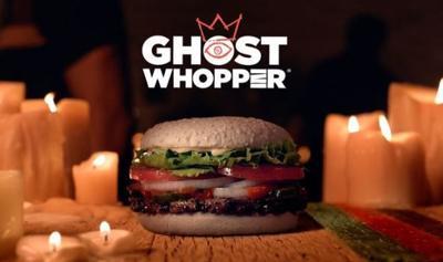Burger King Ghost Whopper