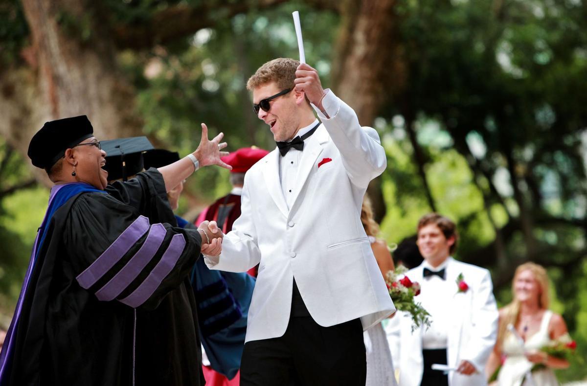 College of Charleston Graduation