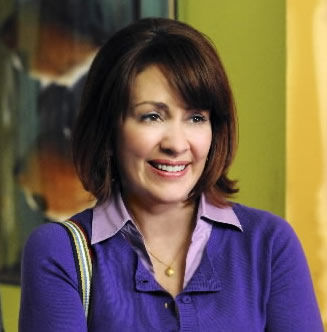 Actress back at home right in 'The Middle'