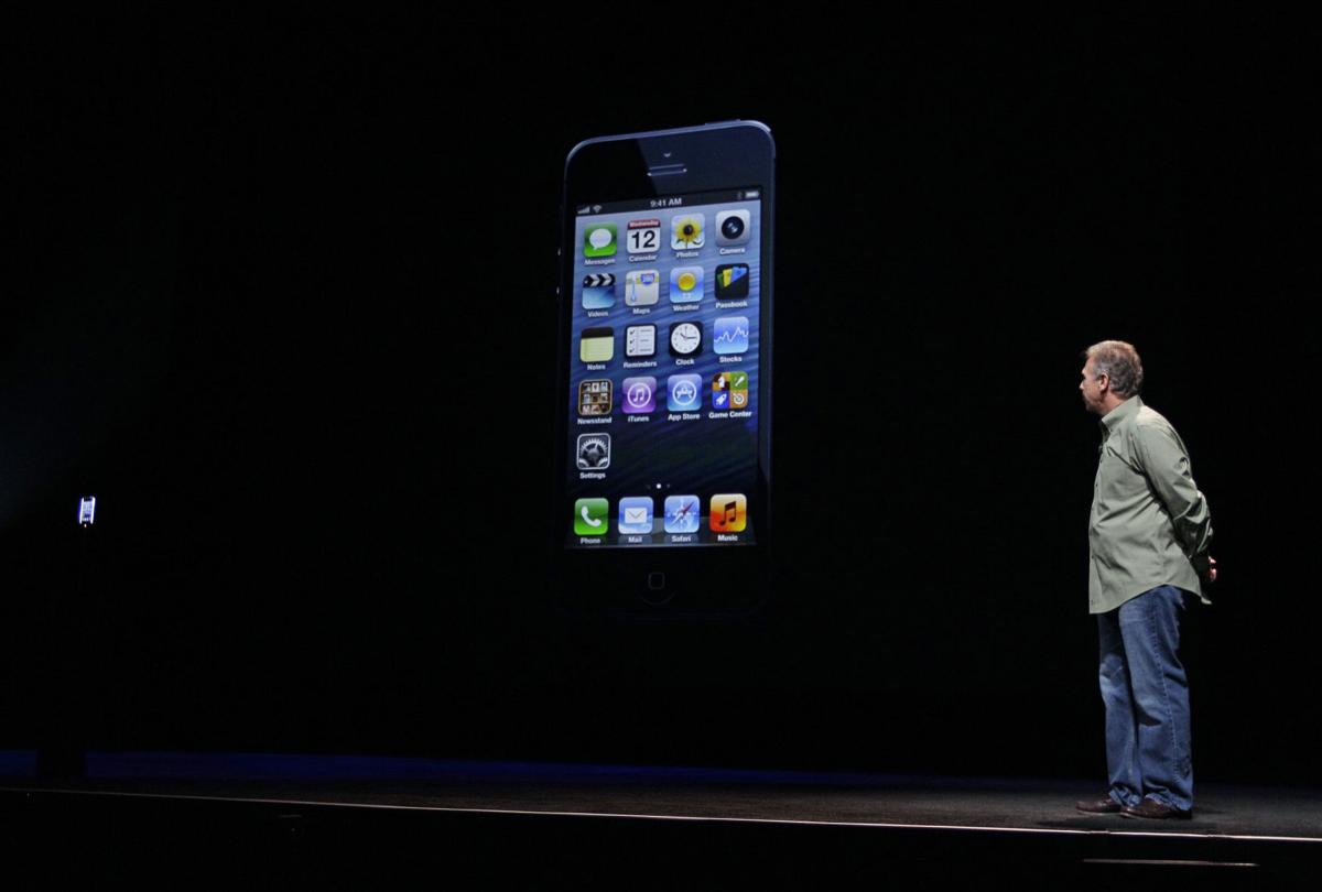 Apple unveils iPhone 5 with taller screen
